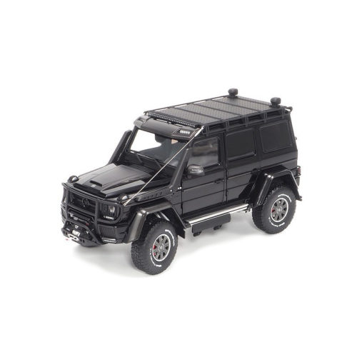 Brabus 550 Adventure Mercedes-Benz G 500 4×4² 2017 - Obsidian Black 1:18 ALMOST REAL ALM 860303
