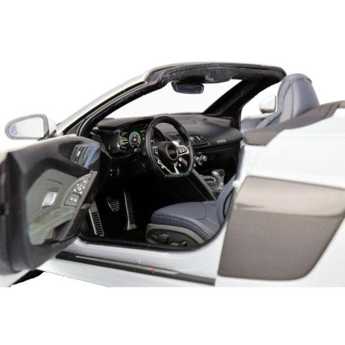 Audi R8 Spyder V10 - Suzuka Grey 1:18 DEALER EDITION AUD 5011618551