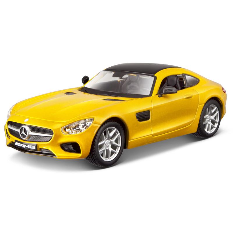 Mercedes Benz AMG GT PLUS - Yellow 1:32 BBURAGO B18-42023