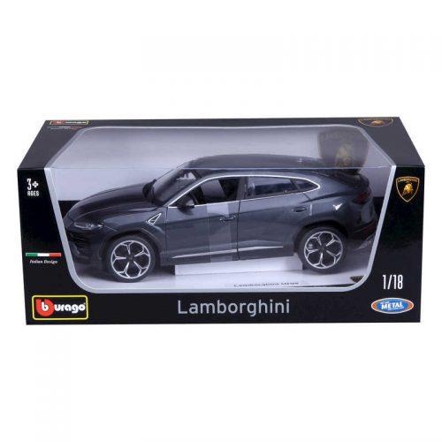 Lamborghini Urus SPECIAL EDITION - Grey 1:18 BBURAGO BUR B18-11042