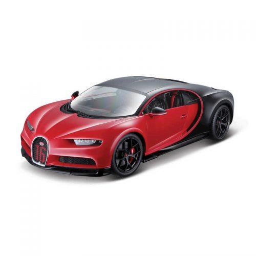 Bugatti Chiron Sport 16 SPECIAL EDITION - Red/Black 1:18 BBURAGO BUR B18-11044