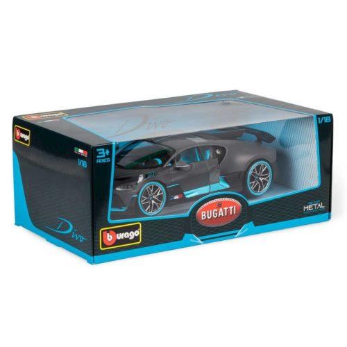 Bugatti DIVO SPECIAL EDITION - Black 1:18 BBURAGO BUR B18-11045