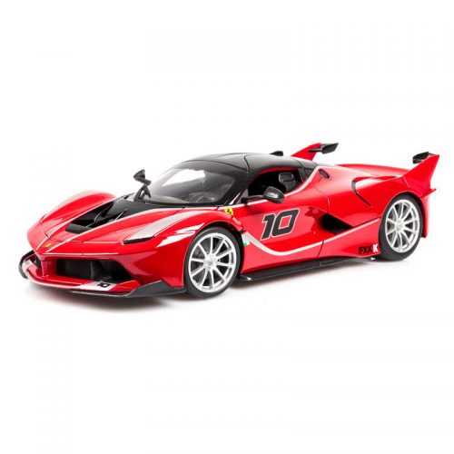 Ferrari FXX-K Race and Play RACE & PLAY - Red/Black 1:18 BBURAGO BUR B18-16010