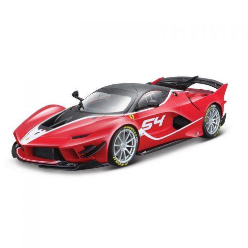 Ferrari FXX-K EVOLUZIONE SIGNATURE SERIES - Red/Black 1:18 BBURAGO BUR B18-16908