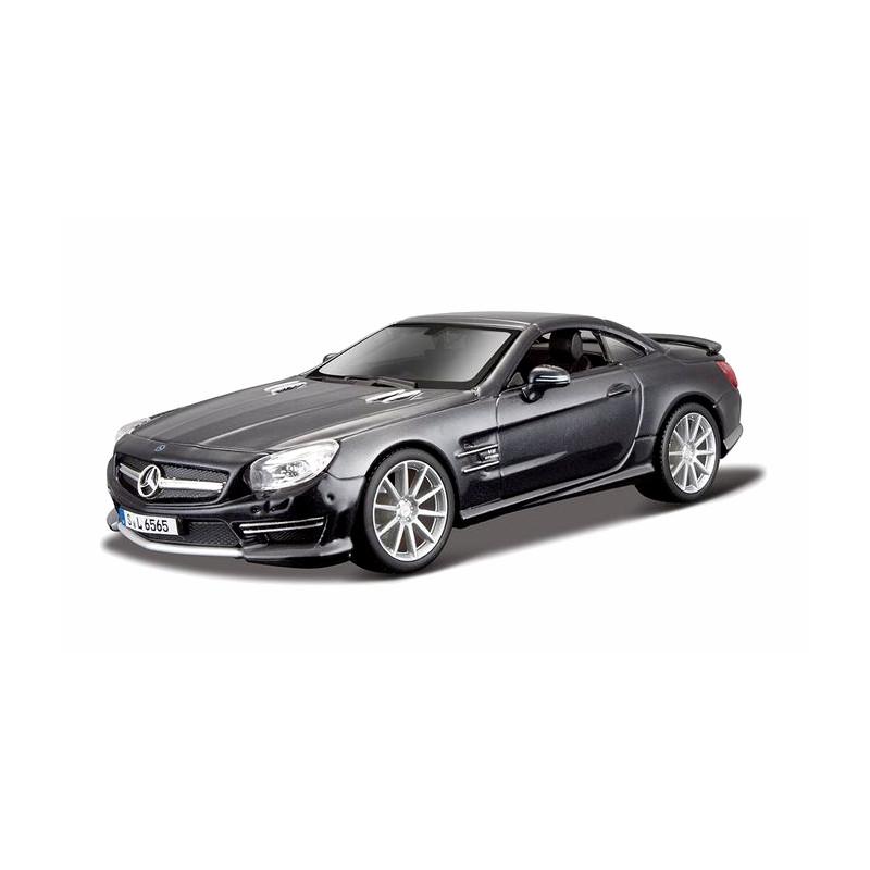 Mercedes Benz SL 65 AMG Hardtop - Black 1:24 BBURAGO BUR B18-21066K