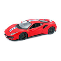 Ferrari 488 PISTA RACE & PLAY - Red 1:24 BBURAGO BUR B18-26026