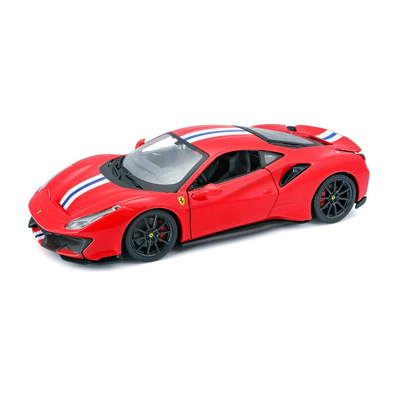 Ferrari 488 PISTA RACE & PLAY - Red 1:24 BBURAGO BUR B18-26026