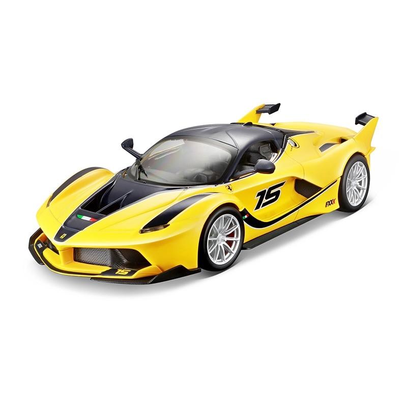 Ferrari FXX-K RACING - Yellow 1:24 BBURAGO BUR B18-26301Y