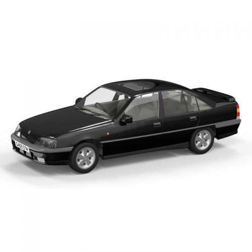 Vauxhall Carlton GSI 3000 RHD Starmist Black 1:43 CORGI VANGUARDS VA14004A