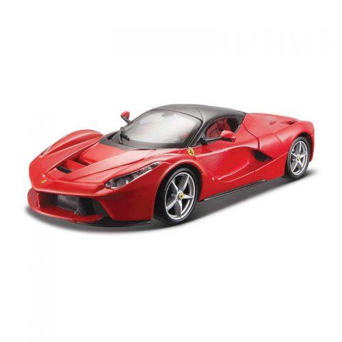 Ferrari LaFerrari RACE & PLAY - Red 1:24 BBURAGO B18-26001