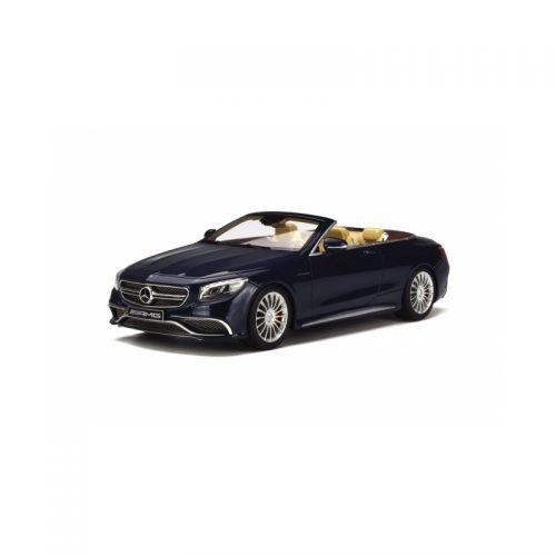 Mercedes-AMG S65 Convertible - Blue 1:18 GT SPIRIT GT153