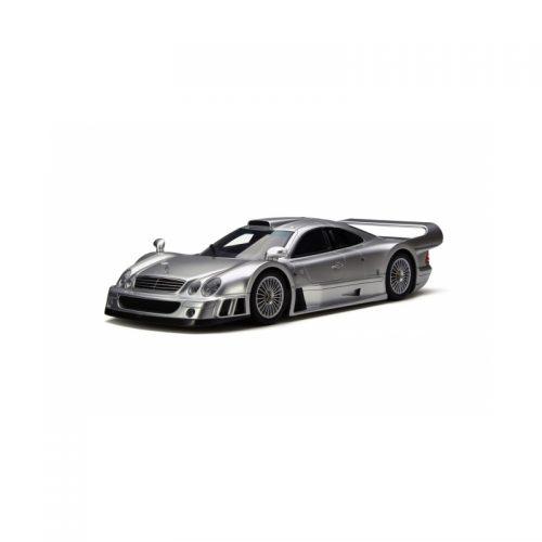 Mercedes Benz CLK GTR Coupé - Silver 1:18 GT SPIRIT GT154