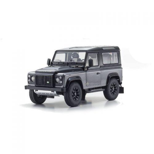 Land Rover Defender 90 Autobiography - Corris Grey 1:18 KYOSHO KYO 08901CGR