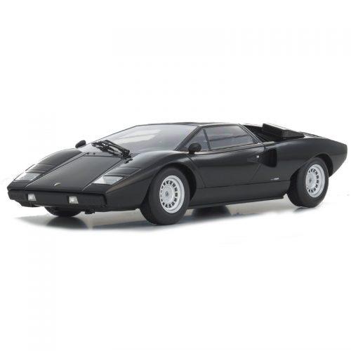 Lamborghini Countach LP400 - Black 1:18 KYOSHO KYO 09531BK