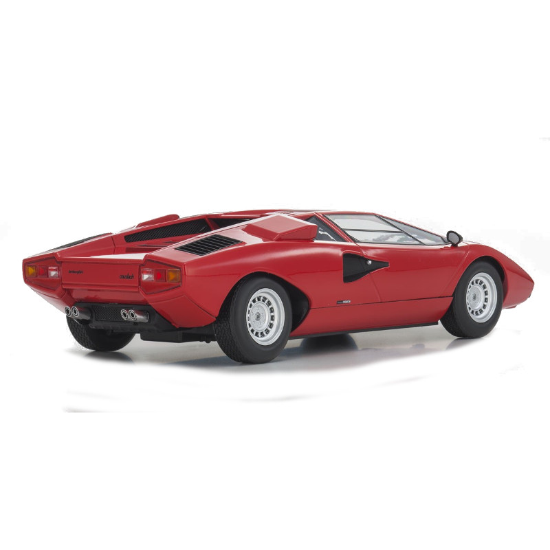 Lamborghini Countach Lp400 Red 1 18 Kyosho Kyo 09531r Model Car