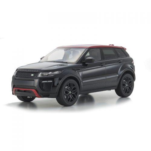 Land Rover Range Rover Evoque - Santorini Black 1:18 KYOSHO KYO 09549BK