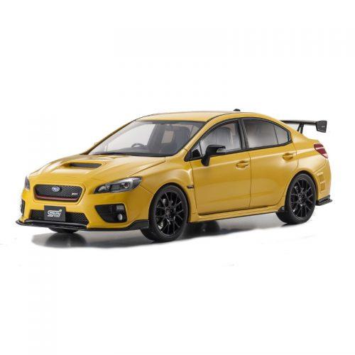 Subaru WRX STi S207 NBR Challenge Package - Yellow 1:18 KYOSHO KYO 18021Y