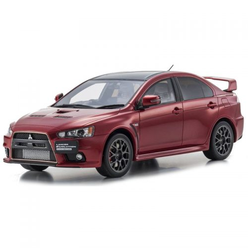Mitsubishi Lancer Evolution X - Red 1:18 KYOSHO KYO KSR18019R