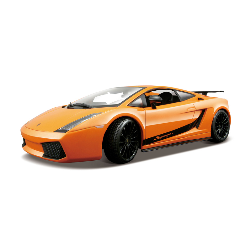 Lamborghini Gallardo Superleggera 2007 Special Edition Orange 1 18
