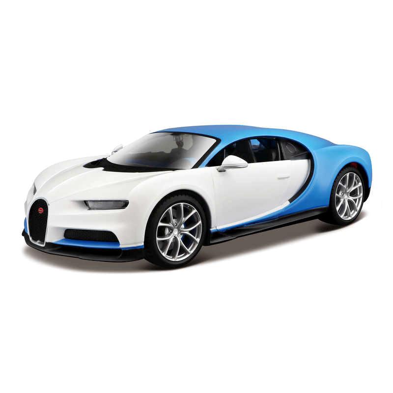 Bugatti Chiron DESIGN EXOTICS - White/Blue 1:24 MAISTO MAI M32509