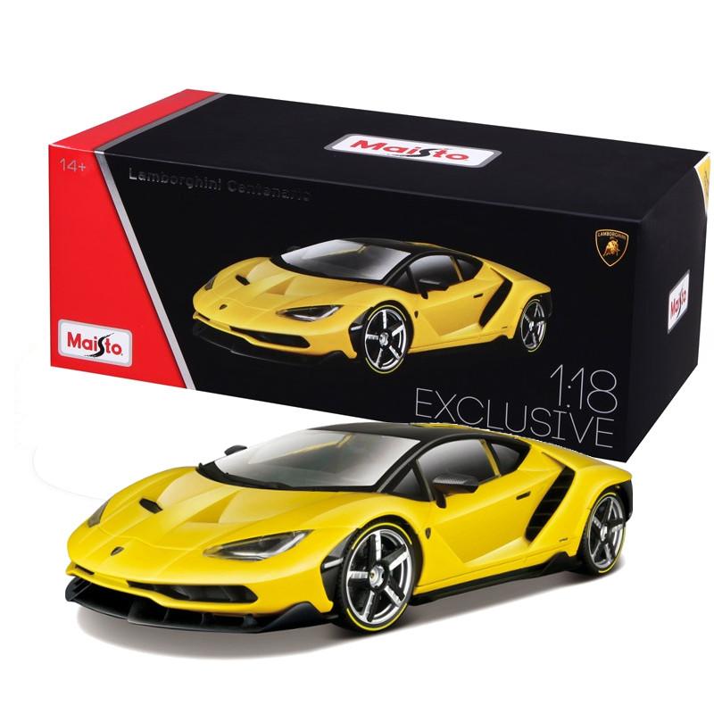 Lamborghini Centenario Exclusive Edition Yellow 1 18 Maisto Mai