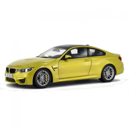 BMW M4 Coupe - Austin Yellow 1:18 PARAGON MODELS PAR 97103