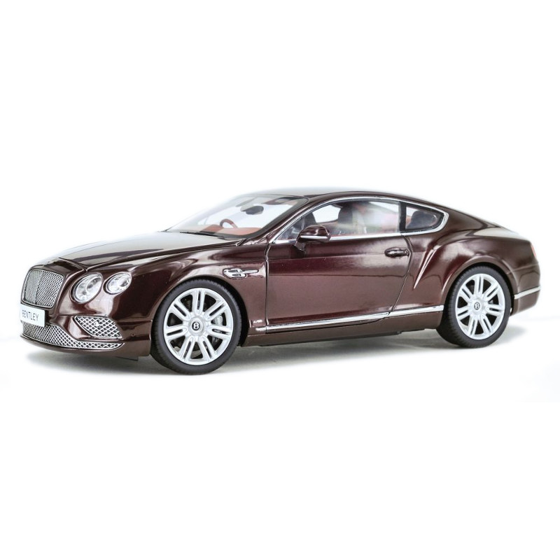 Bentley Continental GT RHD 2016 - Burgundy 1:18 PARAGON MODELS PAR 98221R
