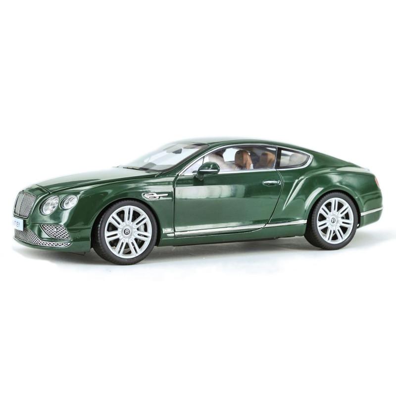 Bentley Continental GT RHD 2016 - Green Verdant 1:18 PARAGON MODELS PAR 98222R
