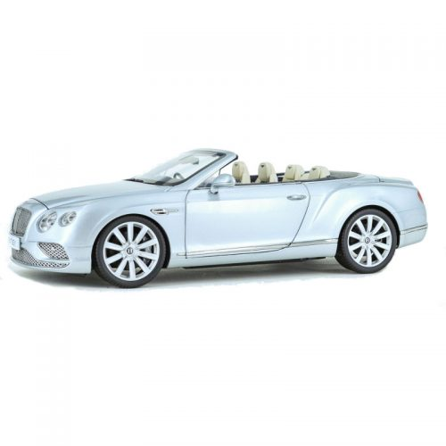 Bentley Continental GT Convertible RHD 2016 - Silver Frost 1:18 PARAGON MODELS PAR 98231R