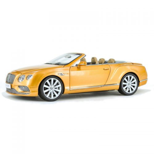 Bentley Continental GT Convertible RHD 2016 - Sunburst Gold 1:18 PARAGON MODELS PAR 98232R