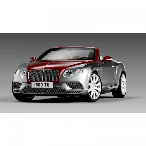 Bentley Continental GT Convertible RHD 2016 - Candy Red over Hallmark 1:18 PARAGON MODELS PAR 98234R