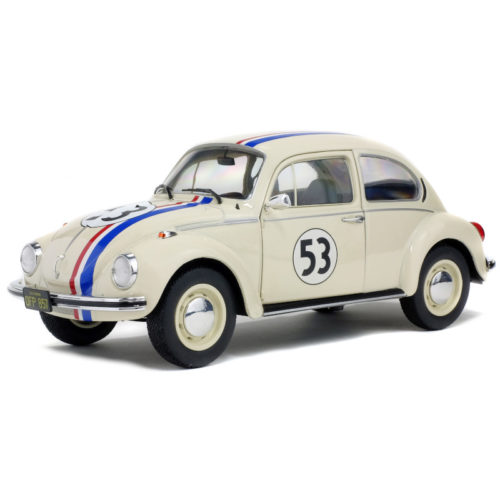 Volkswagen Beetle 1303 Racer 53 - White 1:18 SOLIDO SOL 1800505