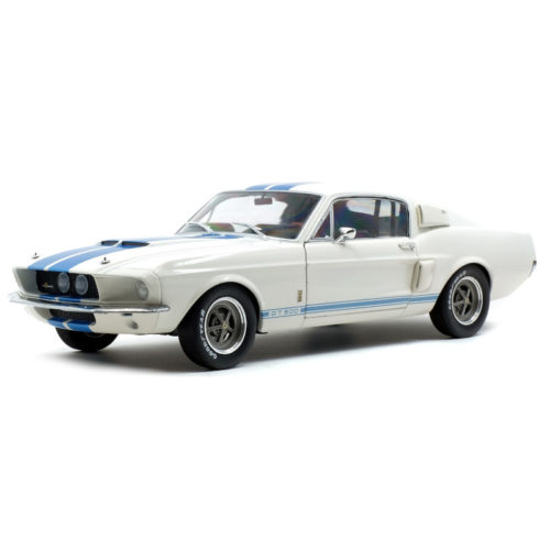 Ford SHELBY GT500 1967 - Wimbledon White 1:18 SOLIDO SOL 1802901