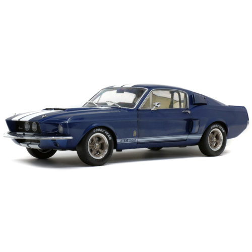 Ford SHELBY GT500 1967 - Nightmist Blue 1:18 SOLIDO SOL 1802903