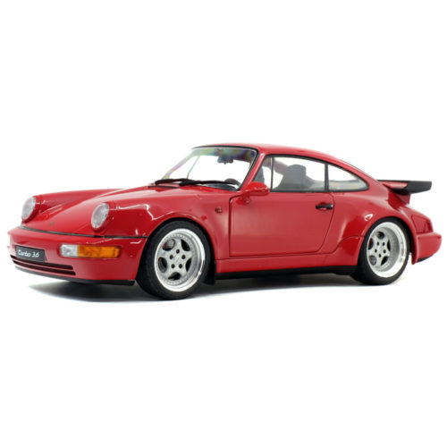 Porsche 911 (964) 3.6 Turbo 1990 - Indian Red 1:18 SOLIDO SOL 1803402