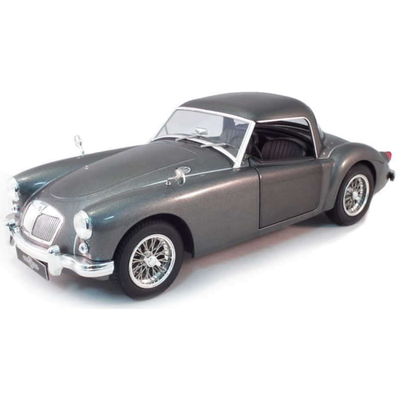 MGA MKI A1500 Closed Hard Top 1957 - Grey 1:18 TRIPLE9 T9 1800161