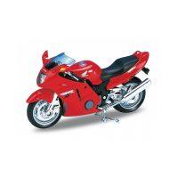 Honda CBR1100XX - Red 1:18 WELLY WEL 12143