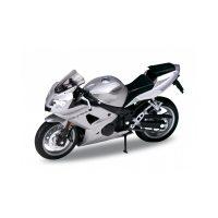 TRIUMPH Daytona 600 - Silver 1:18 WELLY WEL 12179