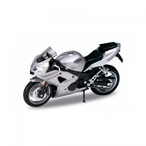TRIUMPH Daytona 600 - Silver 1:18 WELLY WEL 12179