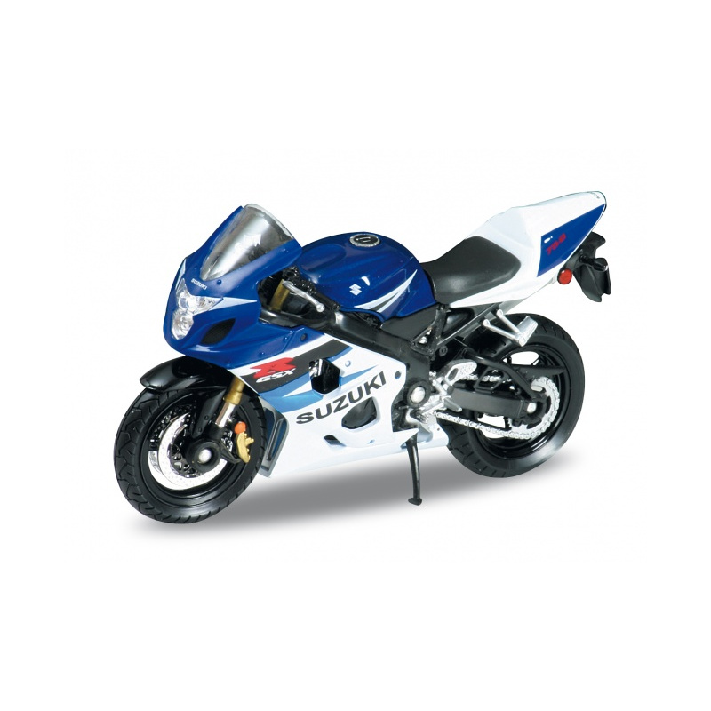 SUZUKI GSX-R750 - Blue 1:18 WELLY WEL 12803