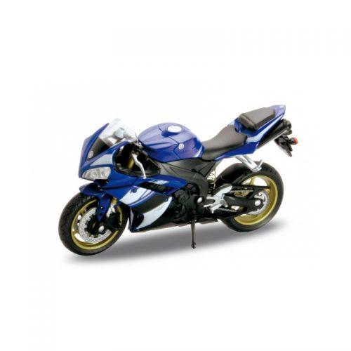 YAMAHA YZF-R1 2008 - Blue 1:18 WELLY WEL 12806