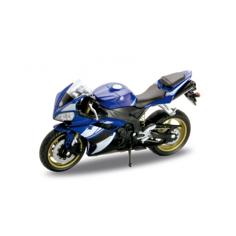YAMAHA YZF-R1 2008 - Blue 1:18 WELLY WEL 12806