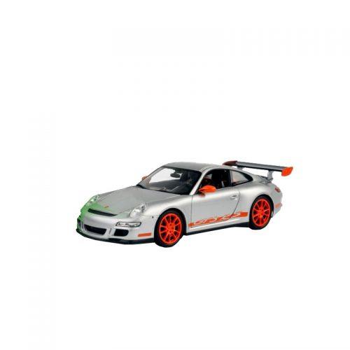 Porsche 911 (997) GT3 RS - Silver 1:18 WELLY WEL 18015S