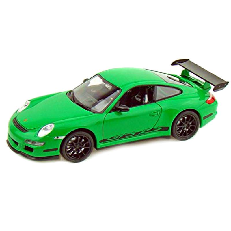 porsche 911 gt3 rs 997 green 1 24 welly nex models wel. Black Bedroom Furniture Sets. Home Design Ideas