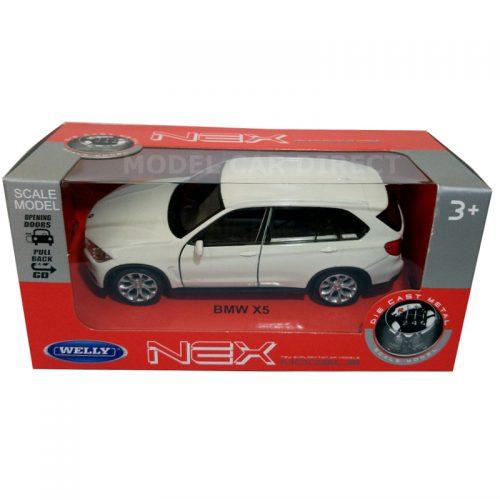 BMW X5 - White 1:34-1:39 WELLY WEL-43691W