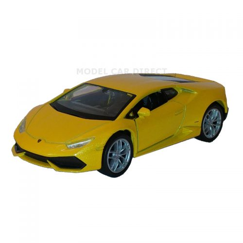 Lamborghini Huracán LP610-4 - Yellow 1:34-1:39 WELLY WEL 43694Y